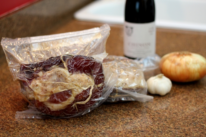 Prosciutto in DryAgePro aging bag